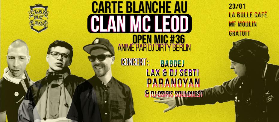 banniere open mic